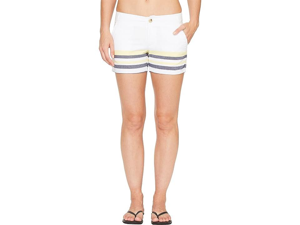 Columbia Solar Fadetm Short (Collegiate Navy Stripe) Women