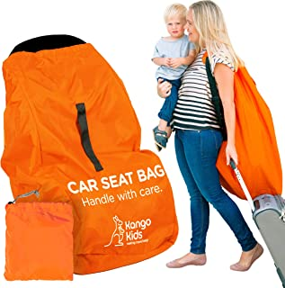 KangoKids Car Seat Travel Bag – Waterproof Carseat, Booster, Backpack Cover –..