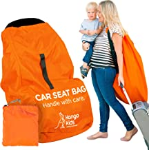 KangoKids Kindersitz Tasche – VERBESSERTE VERARBEITUNG - Robuste Kindersitz Transporttasche – Schutz vor Keimen und Schäden. Transportable Reisetasche für Autositz – Passt auf die meisten Marken