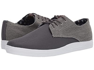Ben Sherman Payton (Dark Grey Nylon/Canvas) Men