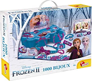 Lisciani 73702 Frozen Toy Box 1000 Jewellery, Multicolour
