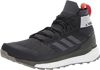 adidas outdoor Terrex Free Hiker Boot - Men's Black/Grey Six/Night Cargo, 10.5