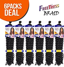 Synthetic Hair Braids FreeTress Water Wave Bulk 22