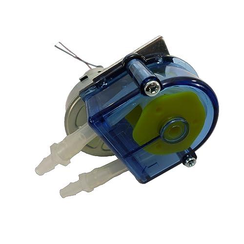 Simply Pumps PM200F Peristaltic Industrial Grade Self Priming Dosing Dispensing and Metering Pump with Norprene Food