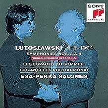 Lutoslawski: Symphonies Nos. 3 & 4 / Les Espaces du Sommeil
