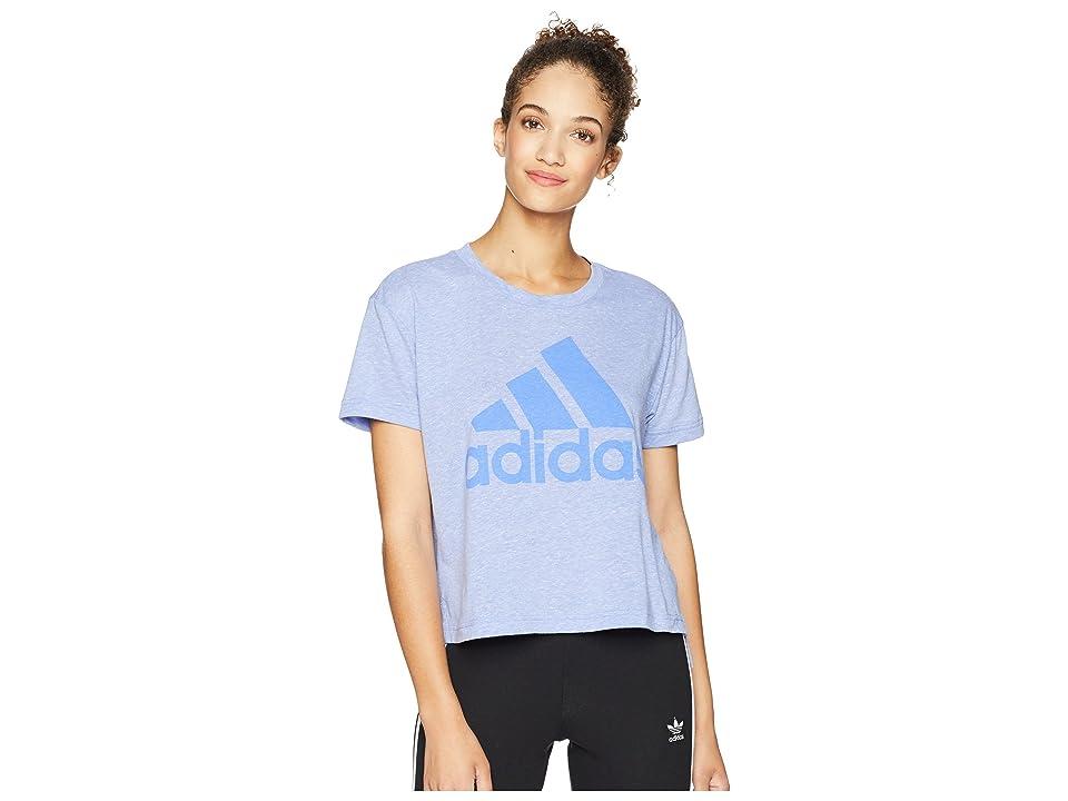 adidas Boxy Badge of Sport T-Shirt (Real Lilac) Women