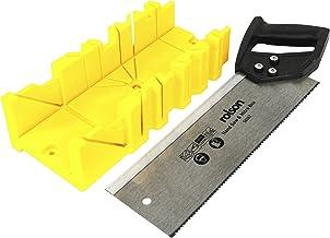 Caja de sierra de inglete multifuncional Gabinete de sierra de inglete 0//45//90 grados Caja de /ángulo de alambre de yeso de madera Caja de sierra de alambre de z/ócalo