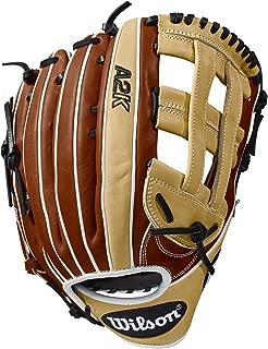 Wilson 2018 A2K 1799 12.75 Outfield Baseball Glove,  Left Hand Throw - Copper/Blonde/White