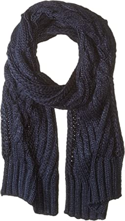 Engineered Cable Scarf