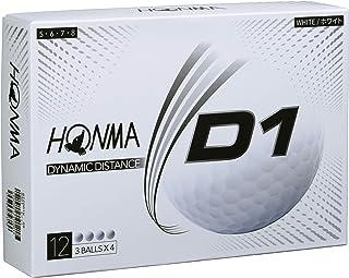 本間ゴルフ HONMA ゴルフボール D1 2020年モデル