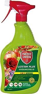 PROTECT GARDEN Lizetan Plus Schädlingsfrei AF, Langzeitschutz gegen Blattläuse, Schildläuse und weitere Schädlinge an Rosen, Zierpflanzen, Obst und Gemüse, 800 ml, Anwendungsfertig