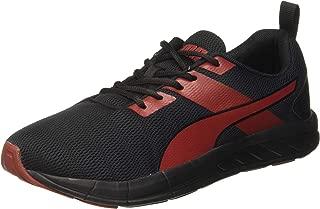 Puma Men's Meteor Nu Idp Black-high Risk Red Running Shoes