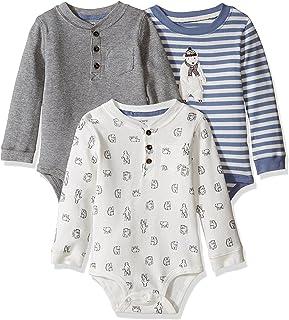 Baby Boys' 3 Bodysuit Set