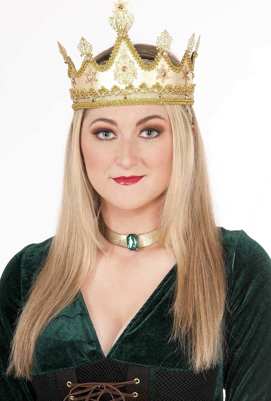 Forum Novelties 73637 Adult Medieval en Size One G Free Shipping Cheap Bargain Gift Popular standard Queen Crown