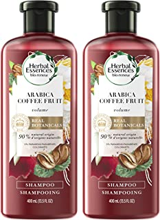 Herbal Essences, Shampoo, BioRenew Arabica Coffee Fruit, 13.5 fl oz, Twin Pack