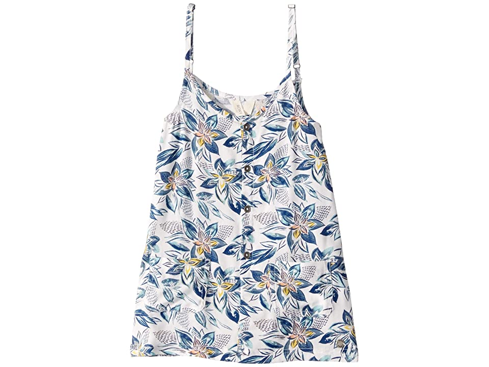 Roxy Kids Summer Boo Dress (Toddler/Little Kids/Big Kids) (Marshmallow Flower Spirit) Girl