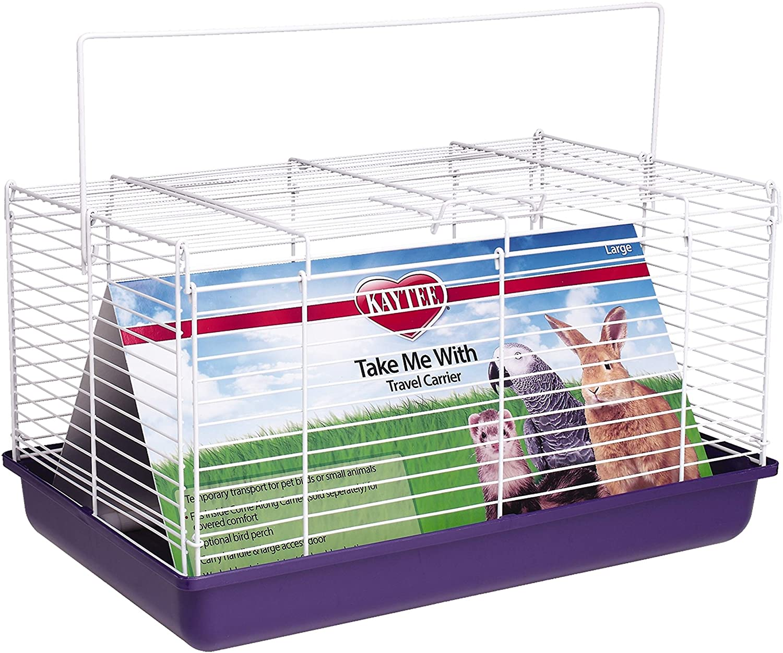 Amazon.com Kaytee Take Me With Small Animal Travel Carrier ...