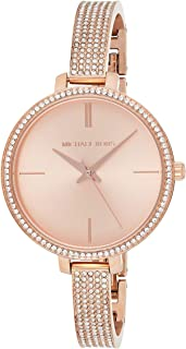Michael Kors Women's Analogue Quartz Watch with Stainless Steel Strap
