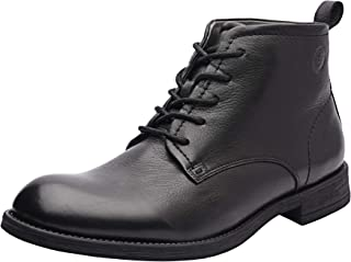 Allonsi   Genuine Leather Boots   Rugged Winter Boots   Leather Combat Boots   Handcrafted Detailing   Durable Sole   Comfortable Winter Boot   Quality Craftsmanship   Everyday Comfort