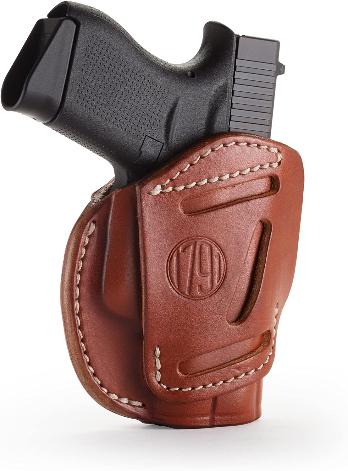 1791 GUNLEATHER 3-Way Glock Limited time for free shipping 43 Regular dealer Ambidex - CCW OWB Holster