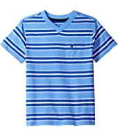 Tommy Hilfiger Kids - Bruce Stripe Crew Tee with Pocket (Toddler/Little Kids)