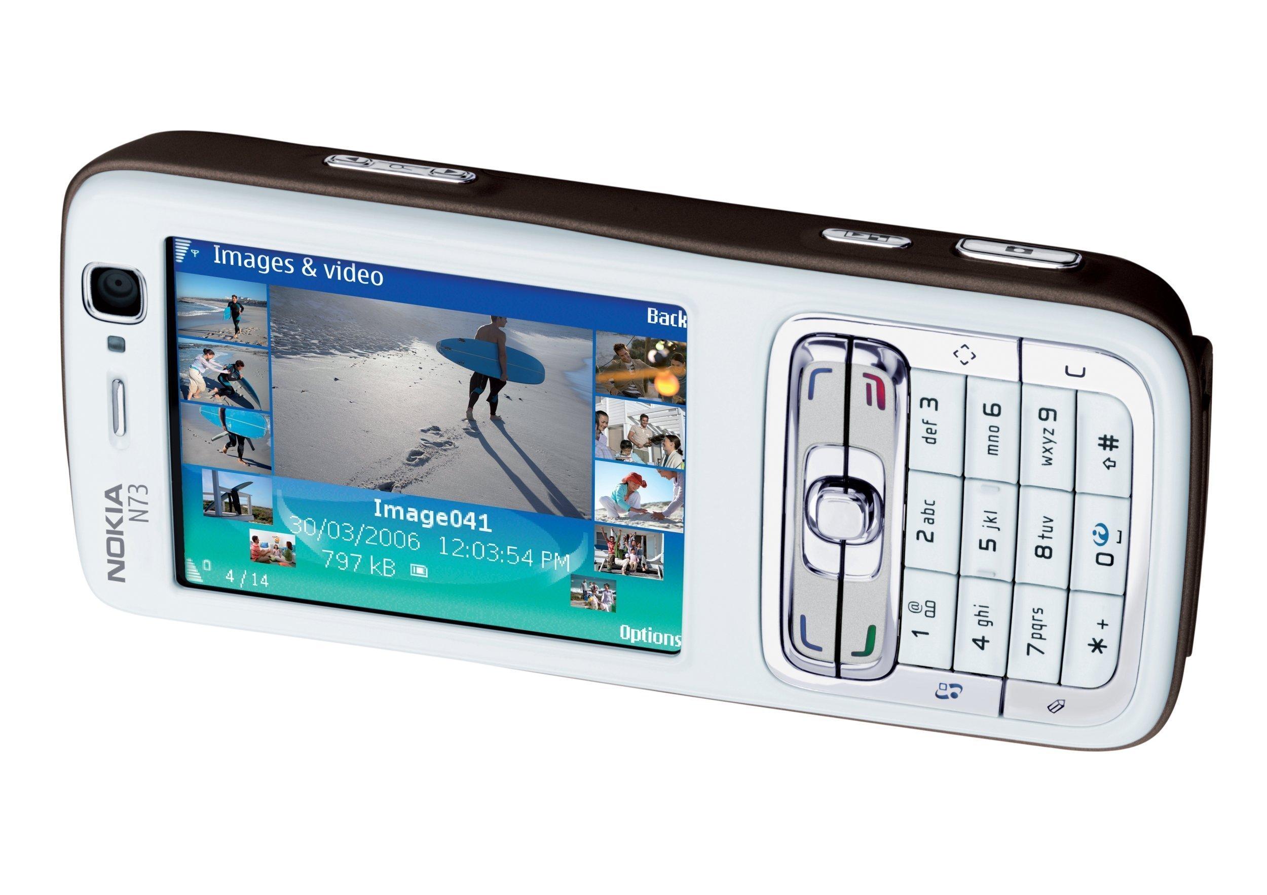 Nokia N73 - Móvil libre (pantalla de 2,4