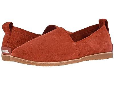 SOREL Ellatm Slip-On (Carnelian Red) Women
