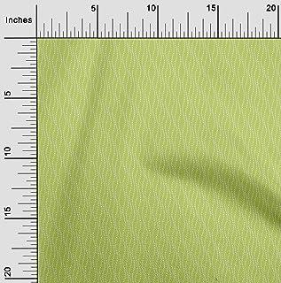 oneOone Viscose Chiffon Fabric Waves Abstract Sashiko Print Decor Fabric Printed BTY 42 Inch Wide