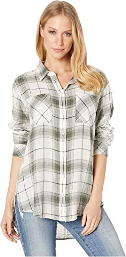 91360ec2 Sanctuary tie back boyfriend shirt | Shipped Free at Zappos