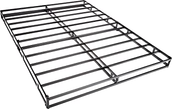AmazonBasics Mattress Foundation / Smart Box Spring for King Size Bed, Tool-Free Easy Assembly - 5-Inch, King