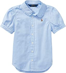 Polo Ralph Lauren Kids Solid Oxford Shirt (Little Kids)
