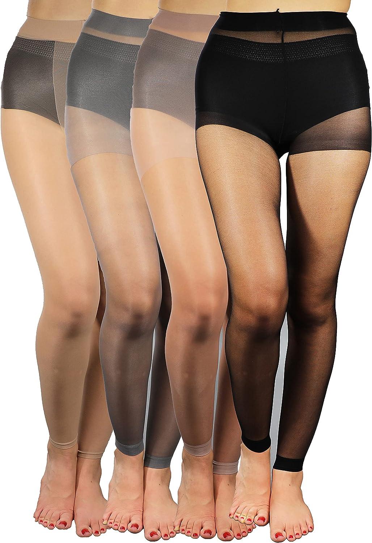Footless Pantyhose - Footless Tights (15 denier)