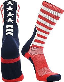 TCK Stars and Stripes Perimeter Crew Socks