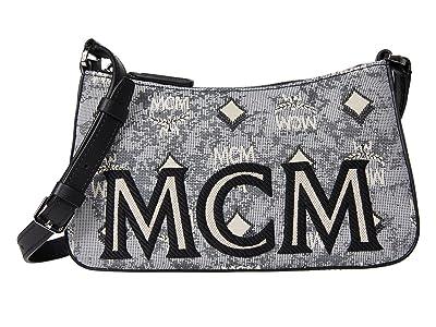 MCM Vintage Jacquard Mini Shoulder