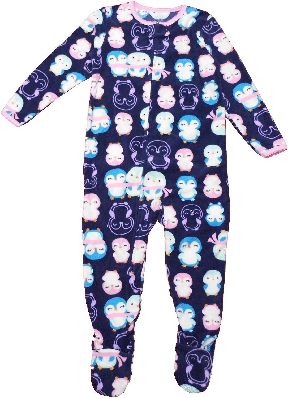 Carter's Child of Mine Made Little Girls' Toddler Microfleece Blanket Sleeper Navy