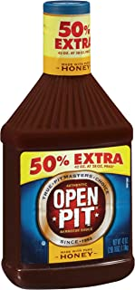 Open Pit Barbecue Sauce, Honey, 42 Ounce (Pack of 6)