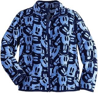 Disney Kids Mickey Mouse Fleece Jacket Blue