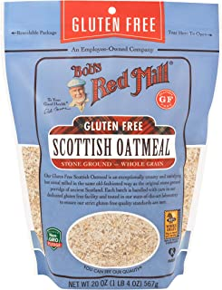 Bob's Red Mill Gluten Free Scottish Oatmeal, 20 Oz