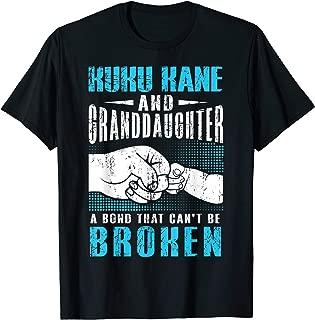 Hawaiian Grandpa Kuku Kane Granddaughter Tshirt Fathers Day