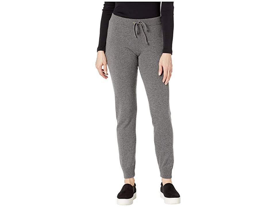 Juicy Couture Sweater Cashmere Zuma Pants (Worsted Grey Cashmere) Women
