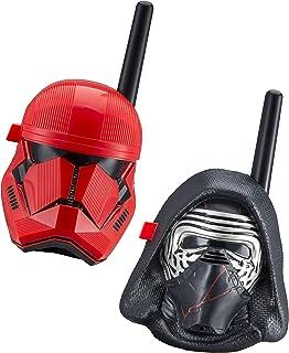 eKids Star Wars Kylo Ren & First Order Trooper Kids Walkie Talkies for Kids Static Free Extended Range Kid Friendly Easy t...