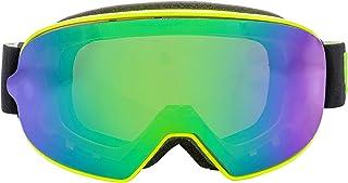 Broken Head Made2Rebel MX Goggle Gelb - Motorrad-Brille Für Motocross, Enduro - UV-Schutz & Grün Wechsel-Glas