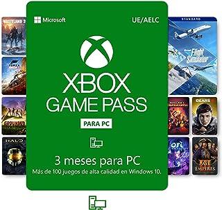 Suscripción Xbox Game Pass para PC - 3 Meses   Windows 10 PC - Código de descarga