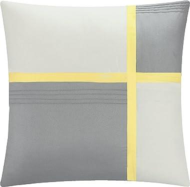 Chic Home 8 Piece Bliss Garden Comforter Set, King, Yellow