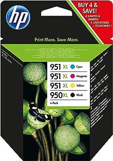 HP 950XL/951XL Wkłady Do Drukarek HP Officejet Pro 276dw, 8600, 8610, 8620, 251dw, 8100, BK/BL/R/Y
