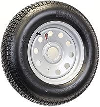 Bolt-On Spare Trailer Tire On Rim 20575D15 15 in. 5 Lug Wheel Gray Grey Modular