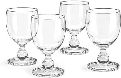 Dansk Suvi Red Wine Glasses (Set of 4), Clear