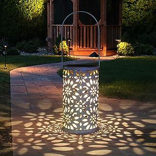Lanterna Solare Esterno, Tencoz LED Luci Solare Le luci solari da Giardino Lampada Vintage Lampada da Giardino Impermeabil...