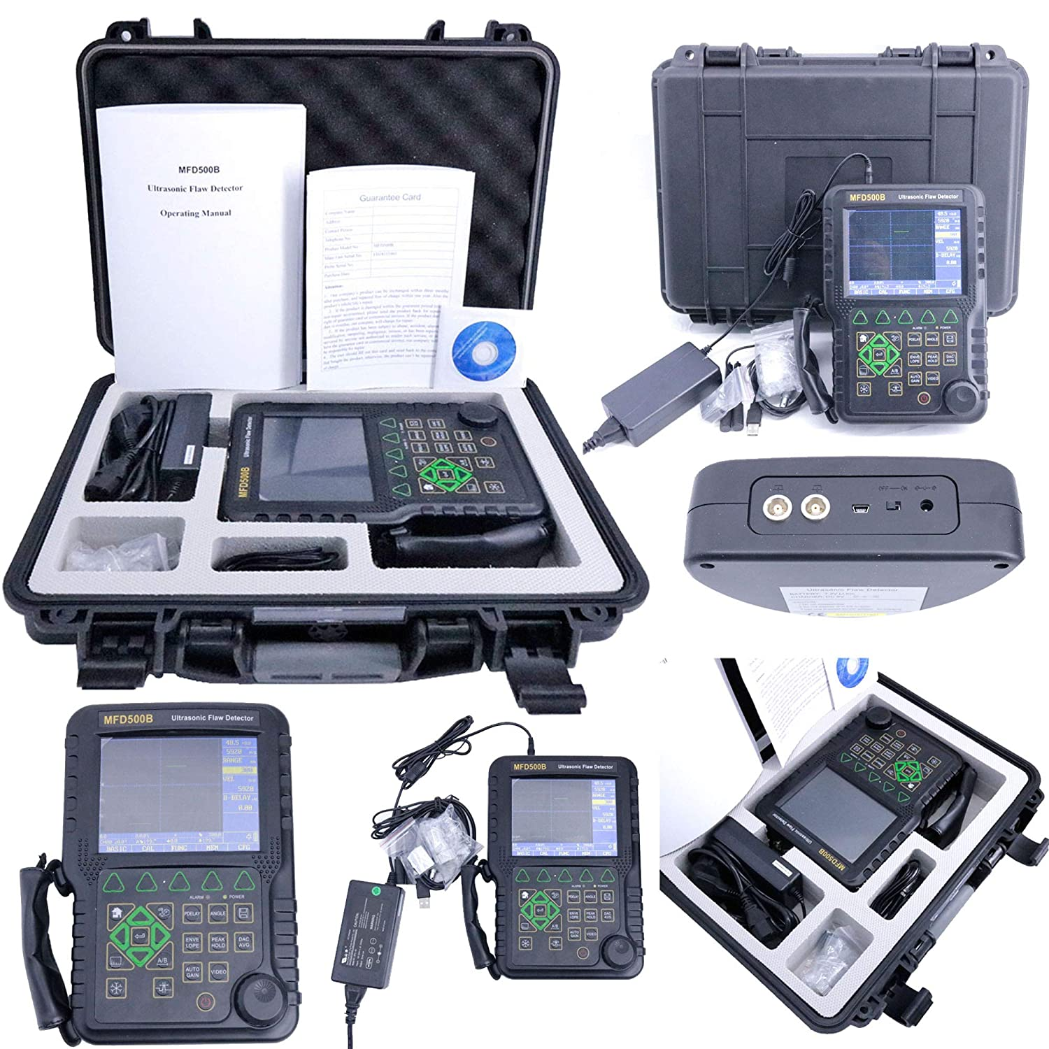 VTSYIQI MFD500B Be super welcome Portable Discount is also underway Digital Detector Ultrasonic Defect Flaw