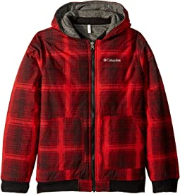 Red Spark Plaid/Black Heather